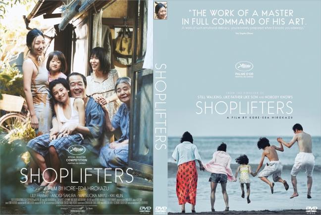 Shoplifters movie awards