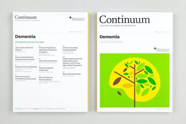 continuum magazine graphic design