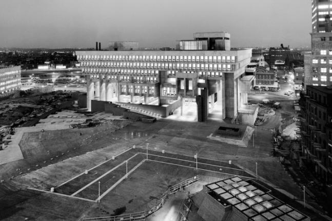 Boston City Hall Brutalism