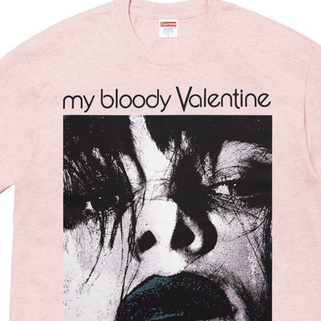 Supreme My Bloody Valentine shirt